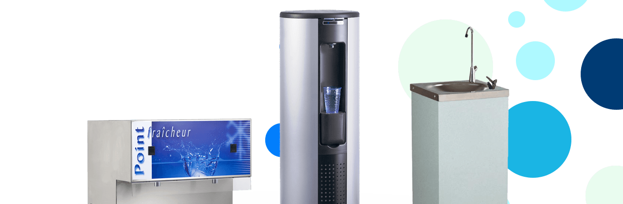 EauFraiche : distributeur de fontaines à eau Fabriquées en France