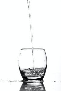 verre remplie